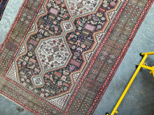 Load image into Gallery viewer, Reeta, vintage Turkish rug with Persian design, 4'6 x 7'7