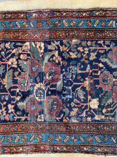 Load image into Gallery viewer, Arman, vintage Persian Malayer runner, 3 x 8'10