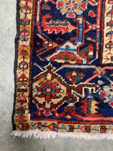 Load image into Gallery viewer, Nari, vintage Persian Heriz with an all-over pattern 6'8 x 9'10