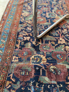 Arman, vintage Persian Malayer runner, 3 x 8'10