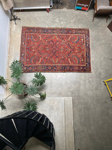 Nari, vintage Persian Heriz with an all-over pattern 6'8 x 9'10