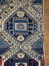 Load image into Gallery viewer, Adja, vintage Turkish runner, 1'9 x 4'7
