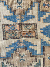 Load image into Gallery viewer, Olle, vintage Caucasian rug 4x 5'4