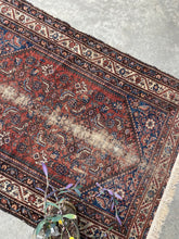 Load image into Gallery viewer, Ghazi, vintage Persian scatter rug 4'3 x 6'2