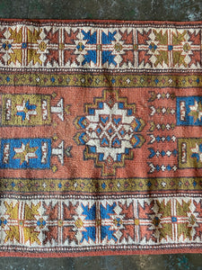 Dacey, vintage Turkish rug 2'5 x 4'7