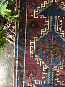 Isa, vintage Turkish rug