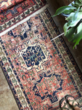 Load image into Gallery viewer, Izod, Mid Century Soumak rug 3'6 x 9'4