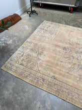 Load image into Gallery viewer, Melpo, vintage Turkish Sparta Rug, 6'8 x 10'3