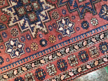 Load image into Gallery viewer, Jaleh, vintage Kazak,  Lesghi Star rug