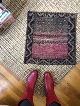 Load image into Gallery viewer, Eleanor, tiny vintage pink rug