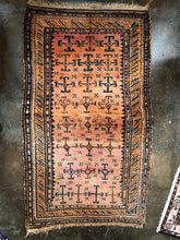 Load image into Gallery viewer, Hamed, Antique Kurdish Persian rug, circa 19th century