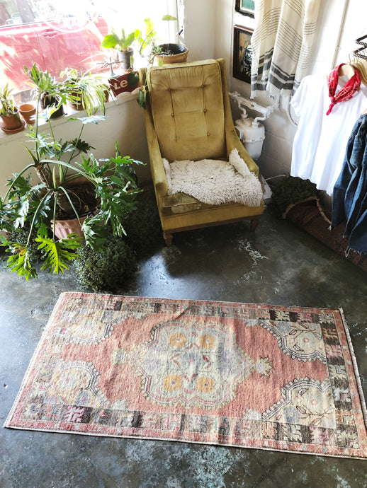 Sefa, vintage Turkish rug