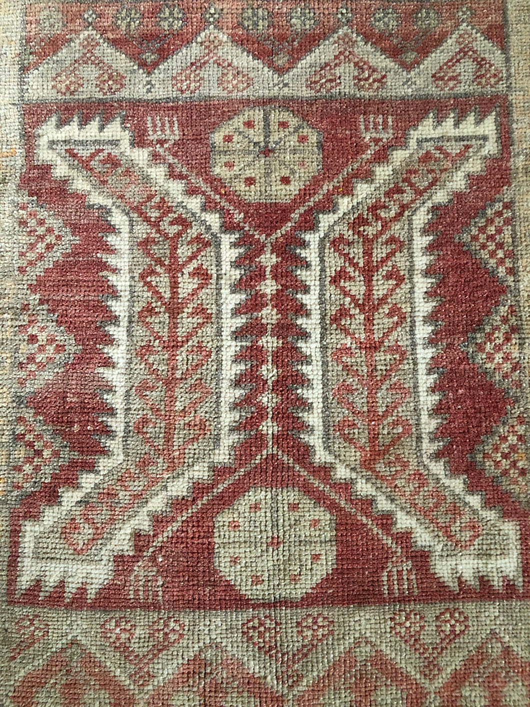 Kennedy, vintage Turkish yastik rug