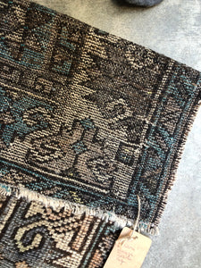 Asena, vintage Turkish rug