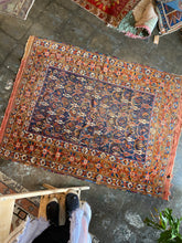 Load image into Gallery viewer, Reiji, Antique Persian Afshar, 4'4 x 5'9