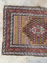 Load image into Gallery viewer, Alp, vintage Persian Malayer scatter rug, 2'7 x 3'8