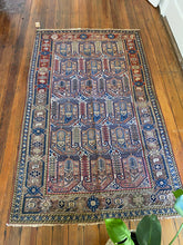 Load image into Gallery viewer, Maryam, Antique Persian Malayer rug circa 1910, 4 x 6'5
