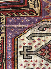 Load image into Gallery viewer, Augusta, vintage Persian rug with vivid purples