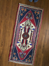 Load image into Gallery viewer, Blake, vintage Turkish yastik rug