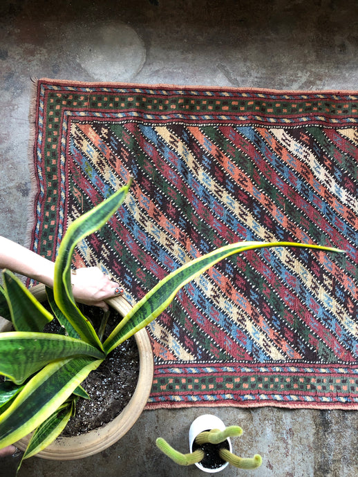 Halide, vintage Turkish rug