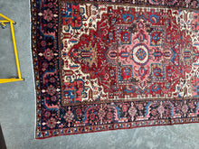 Load image into Gallery viewer, Havva, vintage Persian Heriz, circa 1940s, 7'8 x 10'3