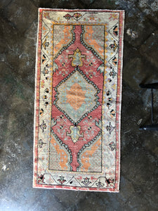 Caria, vintage Turkish rug