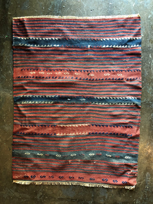 Luna, vintage Turkish kilim