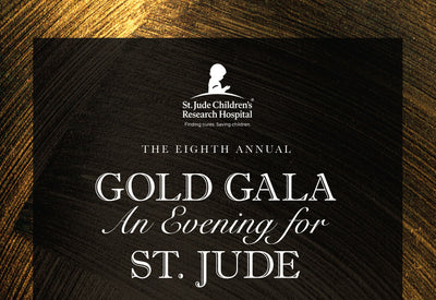 Sponsoring the Gold Gala For St. Jude's Hospital
