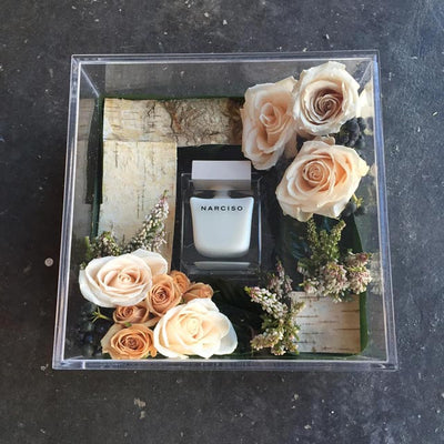 New Narcisco Perfume Promotion: Julia Testa Floral Gift Box
