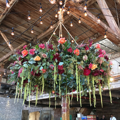 Building Wedding Arches and Installations