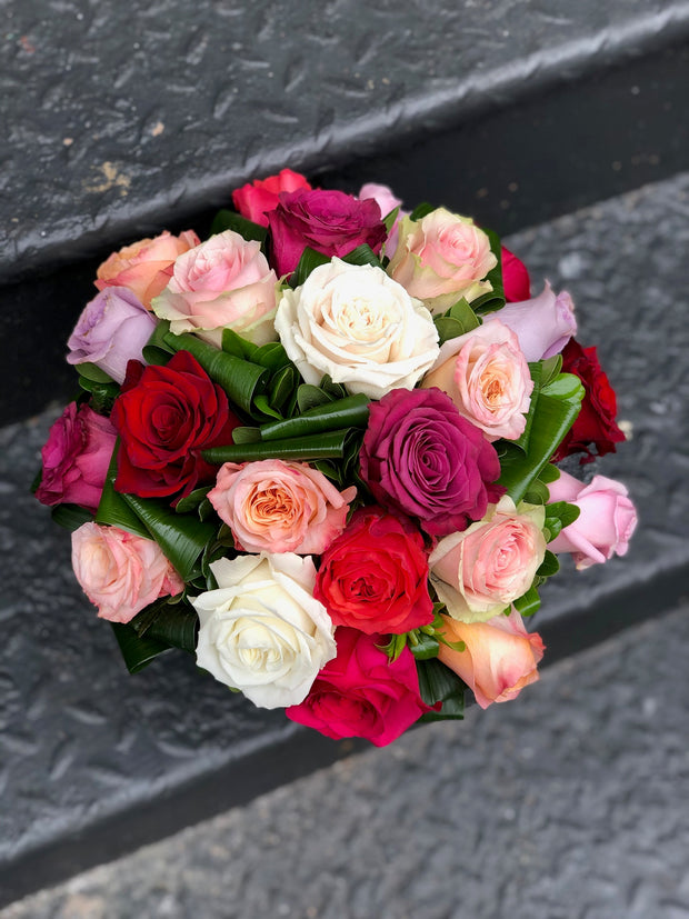 Mixed Colorful Roses