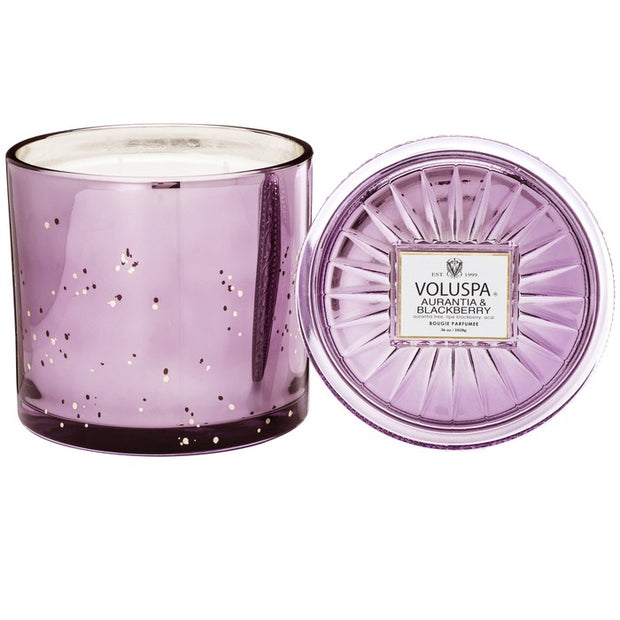 Aurantia and Blackberry 3 Wick Candle