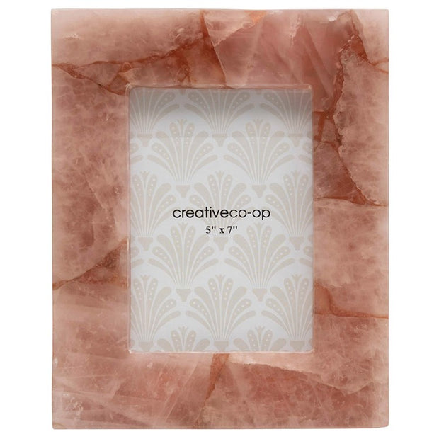 Rose Quartz Photo Frame