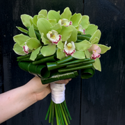 Tropical Cymbidium Orchid City Hall Bridal Bouquet