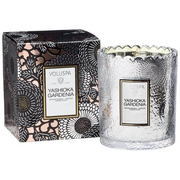 Yashioka Gardenia Boxed Scallop Candle