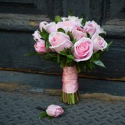 Blush Pink City Hall Bridal Bouquet