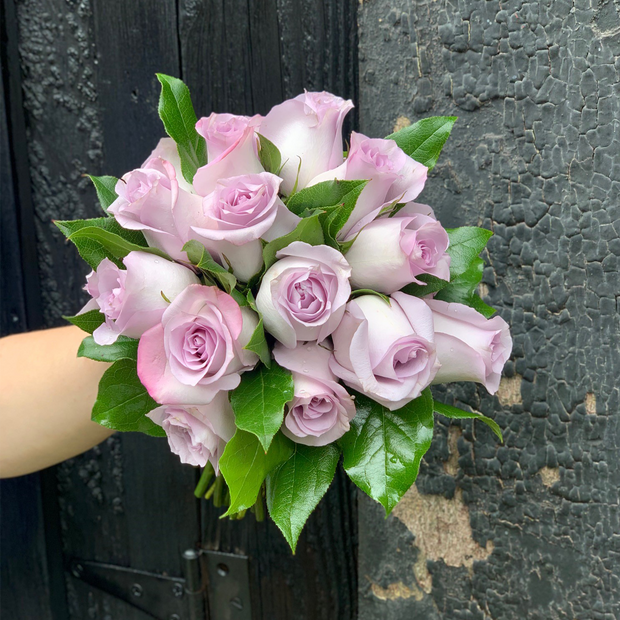 Romantic Rose City Hall Bridal Bouquet