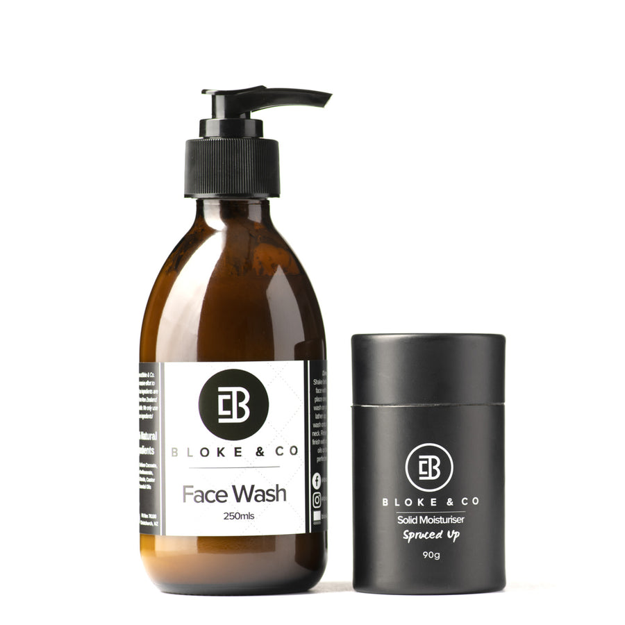 face wash solid moisturiser cleanse