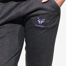 Unisex Charcoal Cozy Joggers