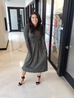 Chica Dress Olive