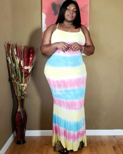 Colors Maxi Dress