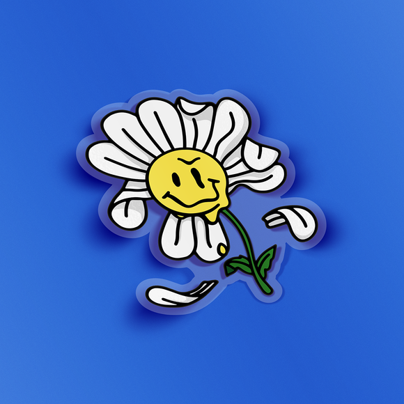 Flower Transparent Sticker