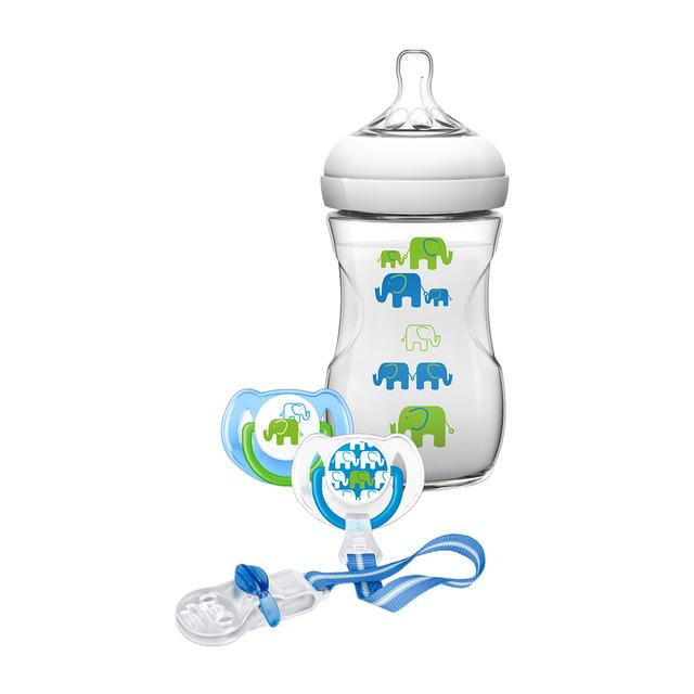 AVENT SET DE REGALO NATURAL DISEÑO ELEFANT
