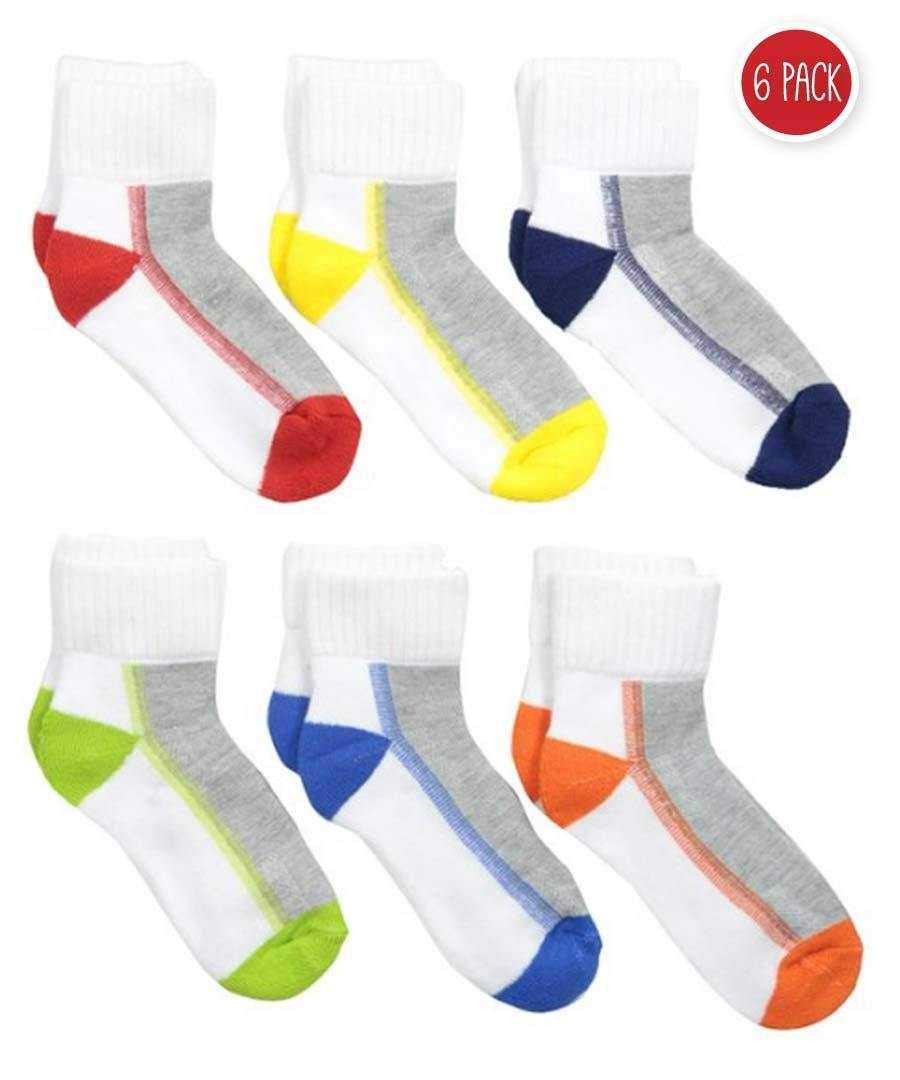 Jefferies - JEFFERIES MEDIAS 6PK MULTI - MEDIAS - Poppy's