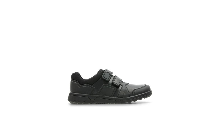 CLARKS ZAPATO BLACK STREET BLACK LEATHER