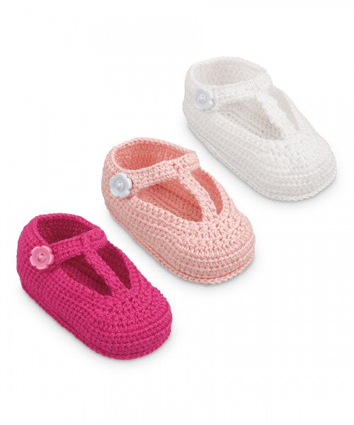 JEFFERIES ZAPATOS DE BEBE NIÑA NB 3PK