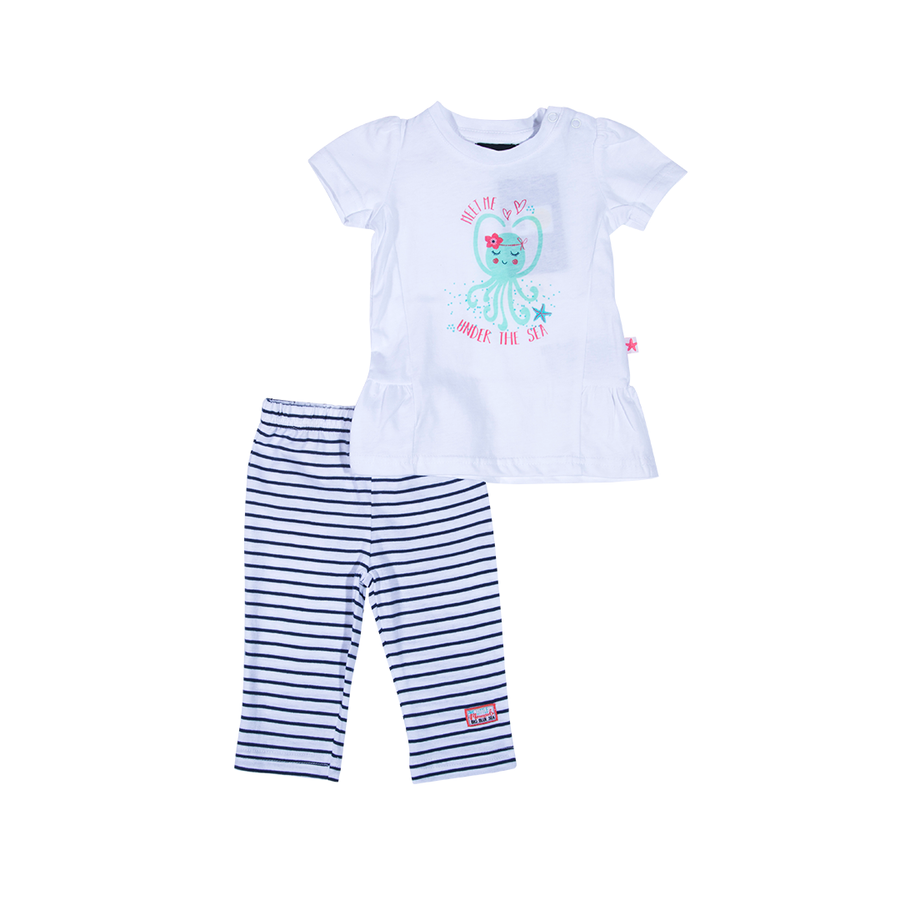 BLUE SEVEN SET BODY Y SUETER NIÑA