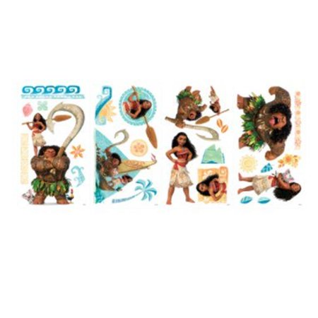 ROOM MATE DISNEY VAIANA WALL DECALS