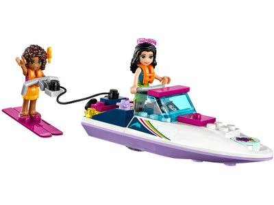 LEGO FRIENDS ANDREA'S SPEEDBOAT TRANSPORTER