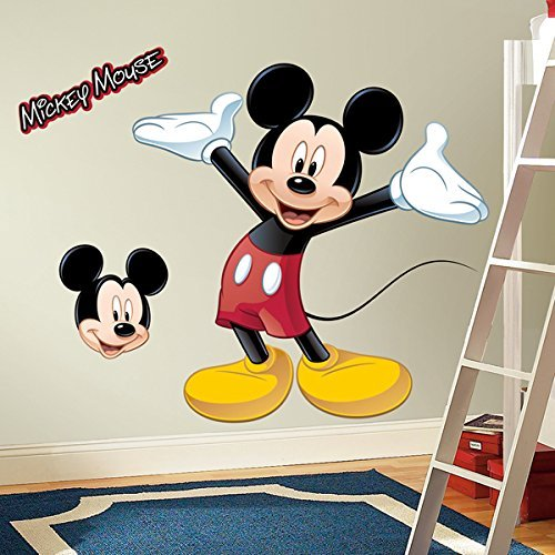ROOM MATE MICKEY MOUSE GIANT APPLIQUE RMK1508GMDK